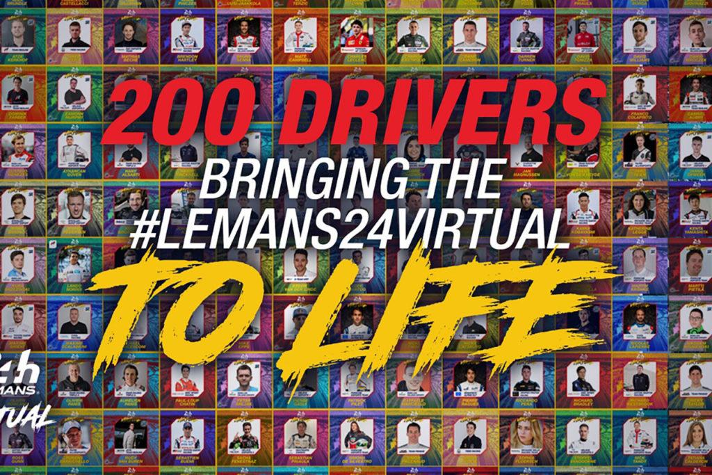 WEC   24 Ore di Le Mans virtuale, ecco l'entry-list completa dei team e dei piloti