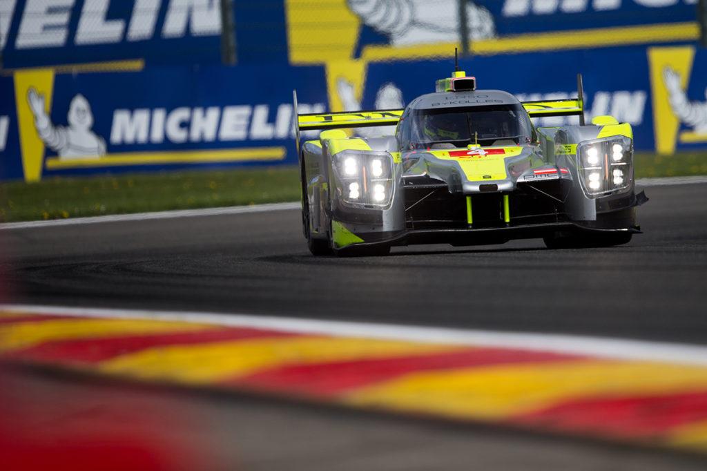 WEC | ByKolles in pista venerdì scorso al Nurburgring per un test con la LMP1
