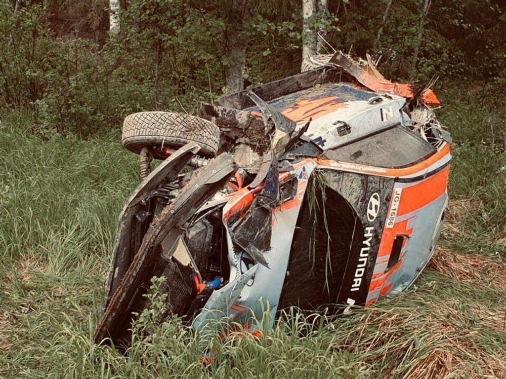 WRC | Incidente nei test per Neuville, il belga spiega la dinamica