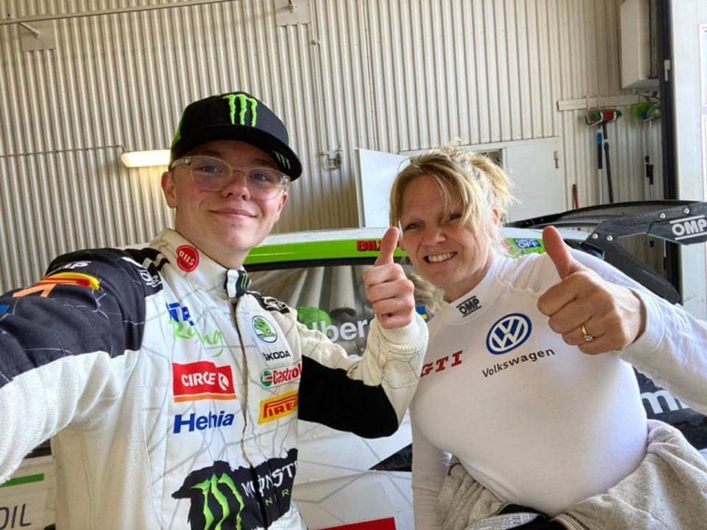 Rally Sweden Lockdown: trionfa Oliver Solberg con sua madre Pernilla