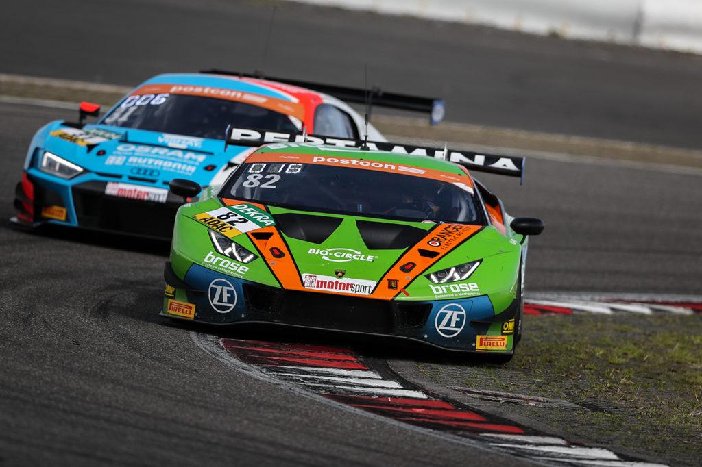 ADAC GT Masters | Orange1 conferma la partnership con GRT Grasser Racing Team e Lamborghini