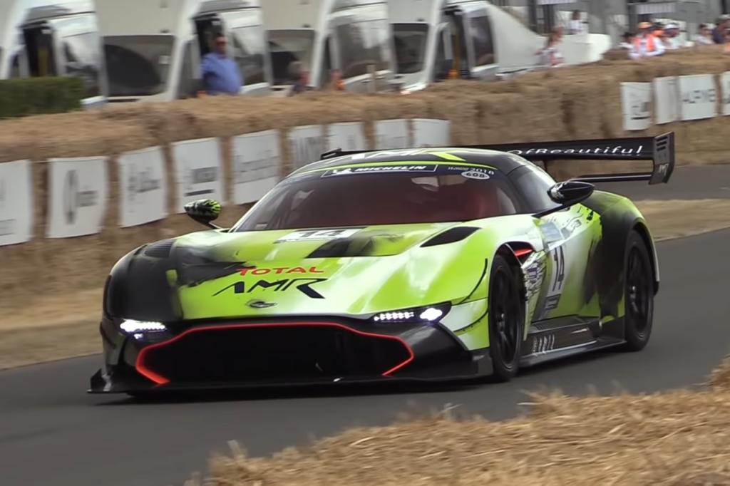 Aston Martin Vulcan AMR Pro: riviviamo la spettacolarità del Goodwood Festival of Speed [VIDEO]