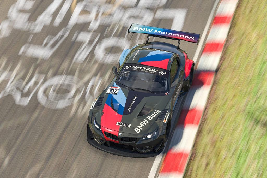 BMW centra l'ennesimo doppio arrivo a podio nella Digital Nurburgring Endurance Series