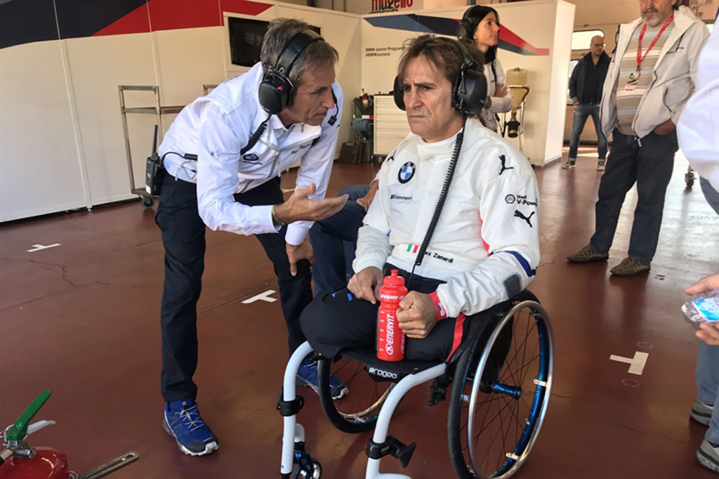 """Zanardi, parla Roberto Ravaglia del Team BMW Italia: """"Sono fiducioso sulla sua guarigione"""""""