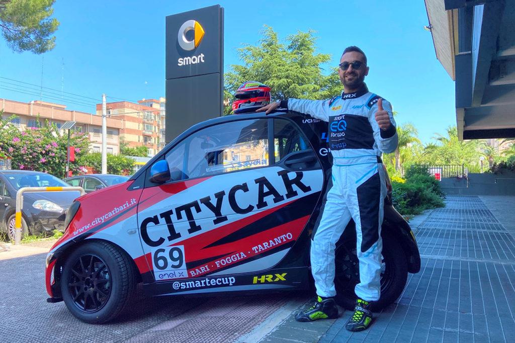 smart EQ fortwo e-cup | CITYCAR Bari debutta nella stagione 2020 con Savoia