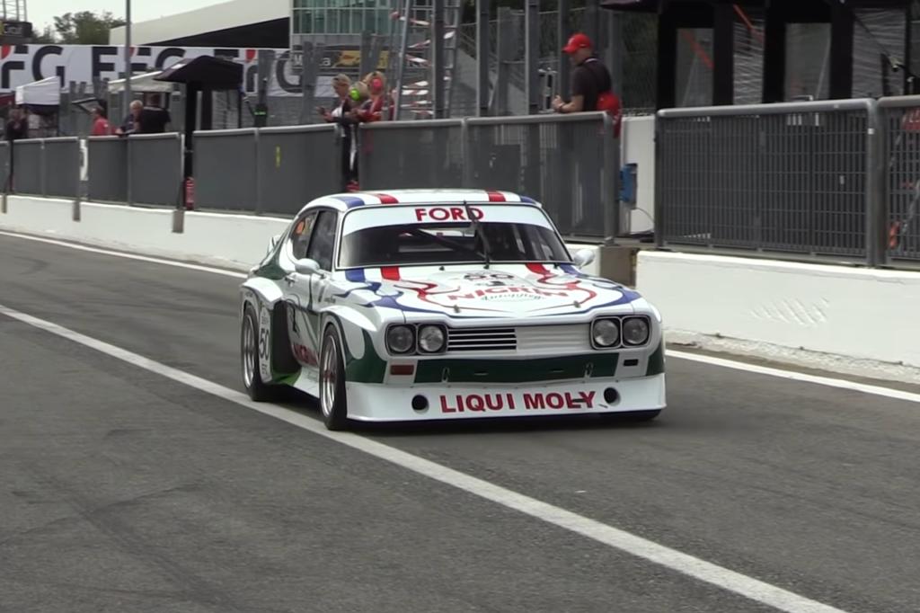 Ford Capri RS 3100, tutta la grinta della Gruppo 2 a Imola e Monza [VIDEO]