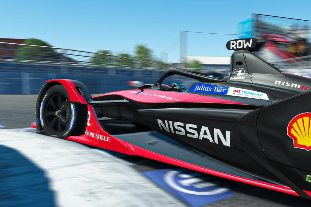 Formula E | Rowland e Nissan e.dams a podio nella Race at Home Challenge