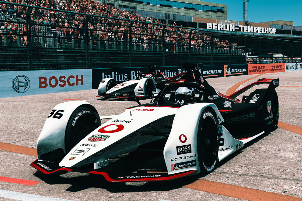 Formula E | Lotterer conquista punti preziosi per Porsche nella Race at Home Challenge