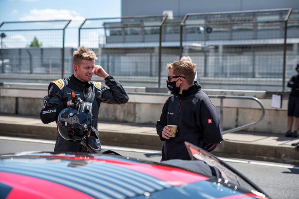 Hulkenberg prova una Lamborghini Huracan GT3 al Nurburgring