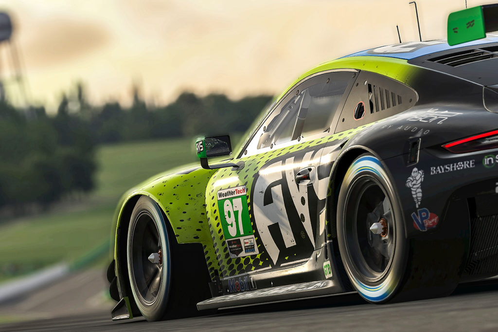 IMSA | Porsche a podio con van Gisbergen nell'iRacing Pro Series in Virginia