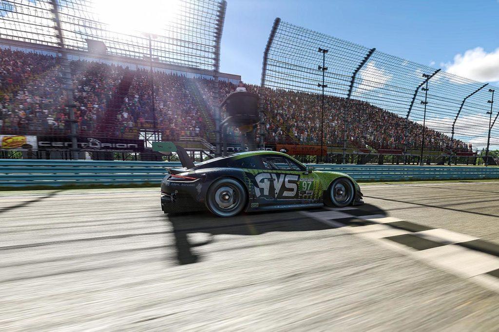 IMSA   Porsche chiude l'iRacing Pro Series con un 2° posto di van Gisbergen al Glen