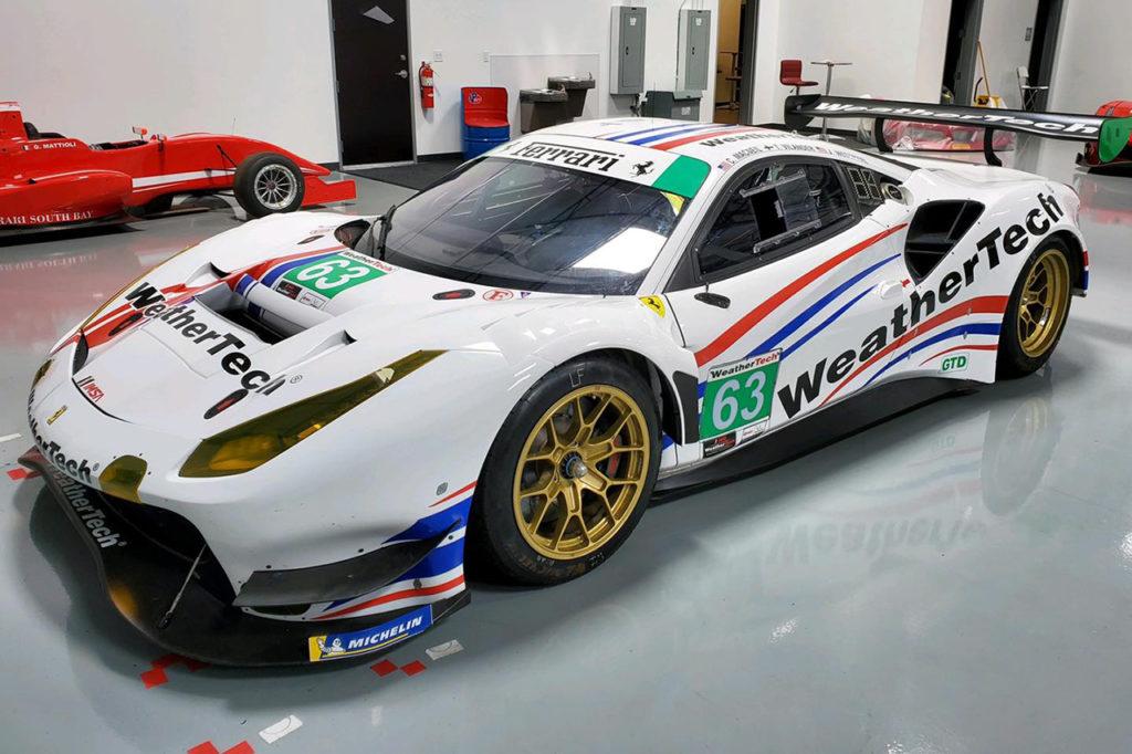 IMSA | Nuovo look patriottico per la Ferrari di Scuderia Corsa a Daytona