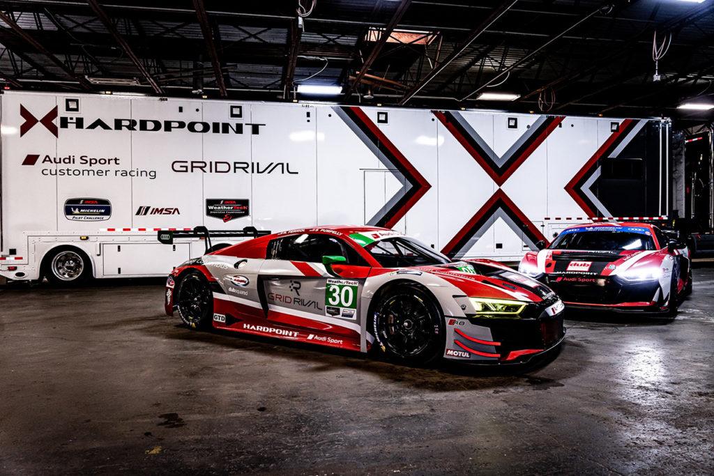 IMSA | Team Hardpoint al via nella classe GTD con un'Audi affidata a Ferriol e Pumpelly