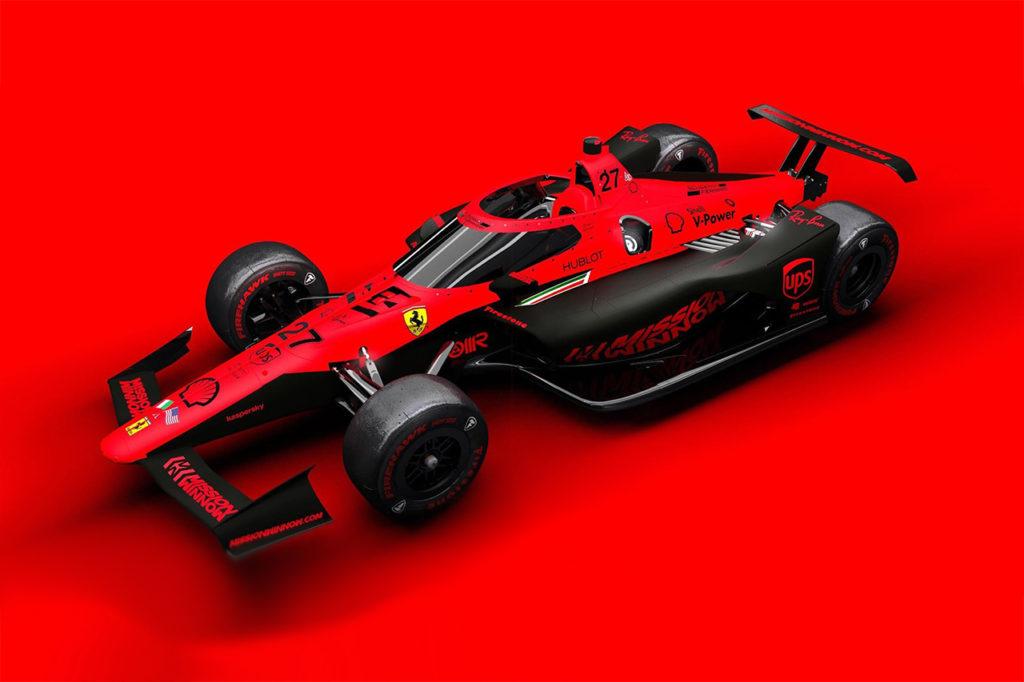 IndyCar | Ferrari si prepara ad entrare? Ecco la fantasiosa livrea di Sean Bull