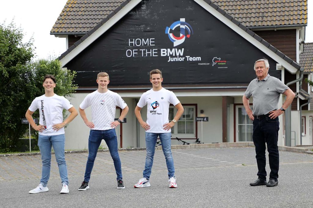 NLS | Il BMW Junior Team pronto per il debutto al Nurburgring Nordschleife