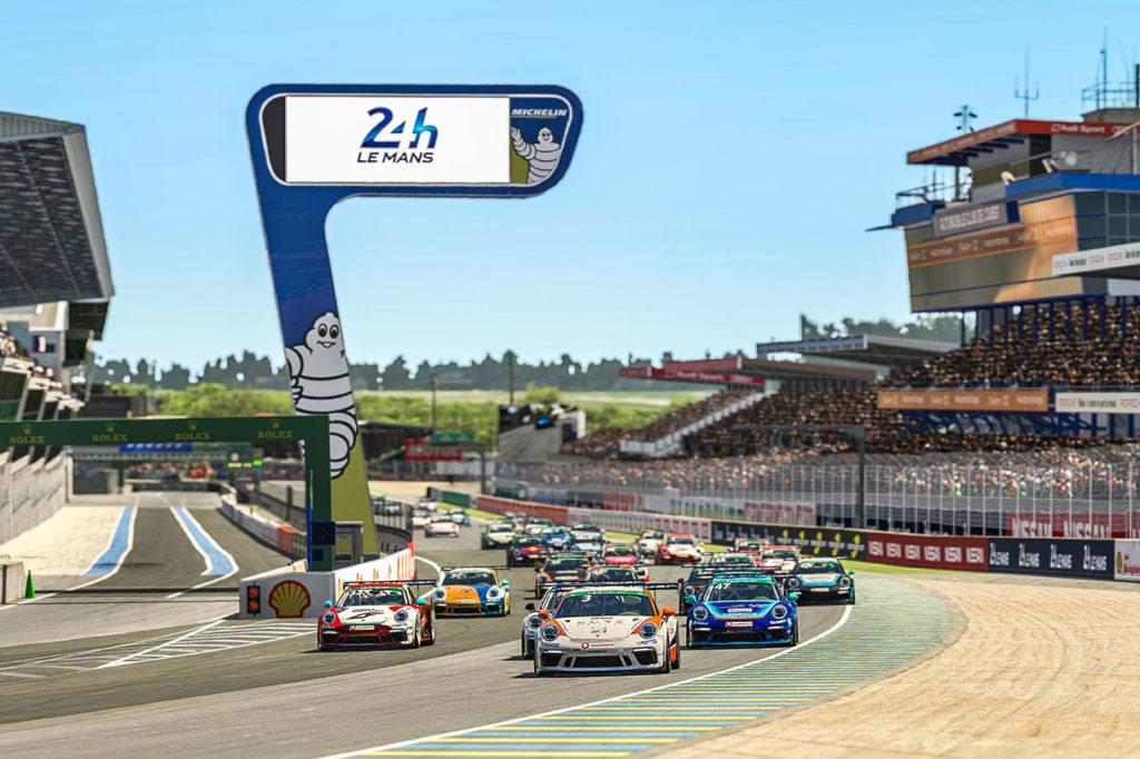 Porsche Esports Supercup | Ellis e Beneke vincono a Le Mans, Job sale al comando