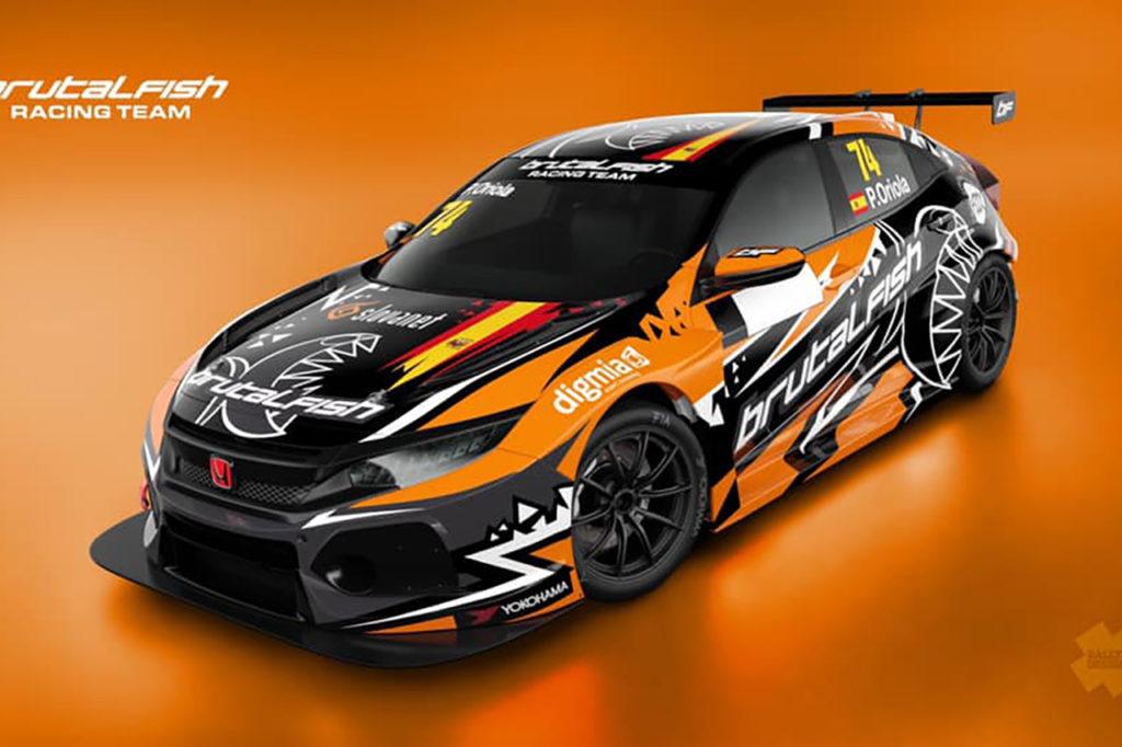 TCR Europe | Brutal Fish Racing schiera una terza Honda per Oriola nel 2020