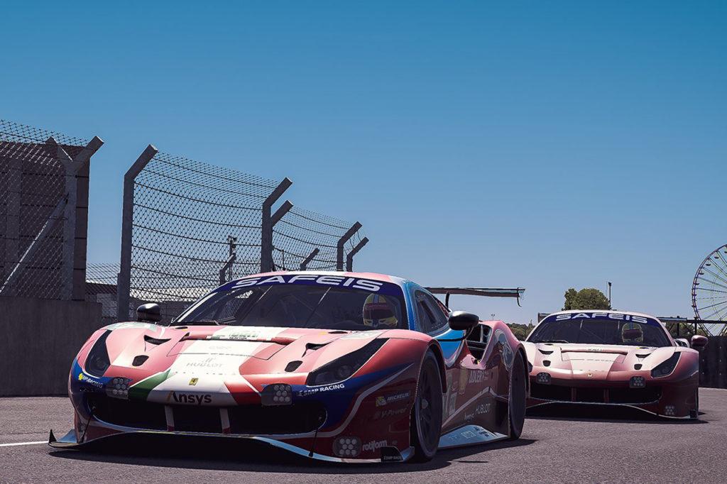 WEC | Ferrari coglie un dignitoso 7° posto nella 24 Ore di Le Mans Virtuale