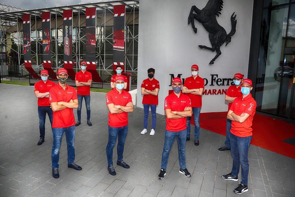 WEC | I piloti Ferrari correranno la 24 Ore di Le Mans virtuale dal Museo di Maranello