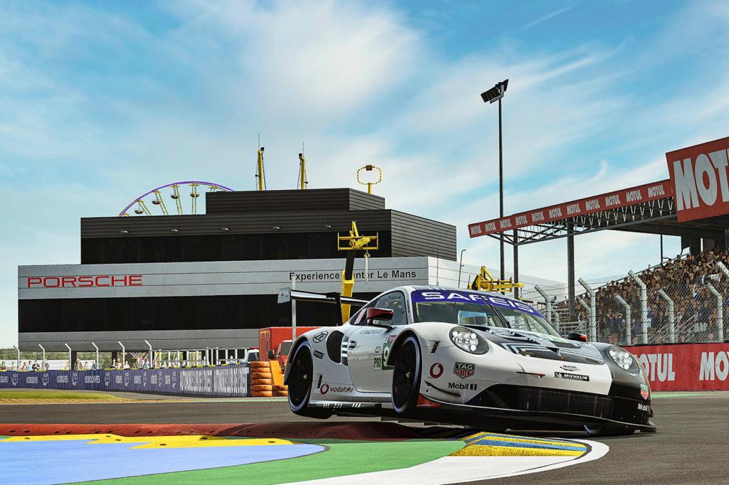 WEC | Porsche conquista la vittoria della classe GTE alla 24 Ore di Le Mans Virtuale