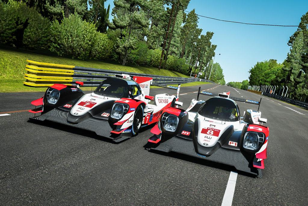 WEC | Toyota svela le livree per la 24 Ore di Le Mans virtuale
