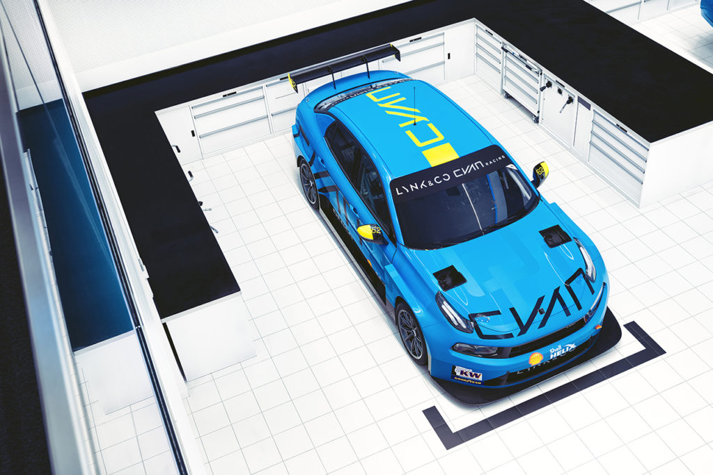 Cyan Racing Lynk and Co 03 TCR