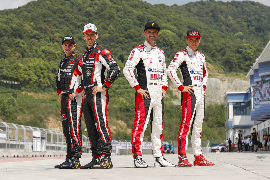 WTCR | Confermati i quattro piloti Honda per Munnich Motorsport nel 2020