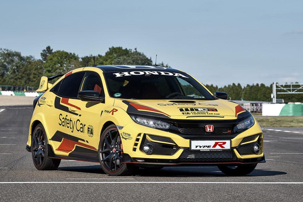 WTCR | Honda Civic Type R Limited Edition eletta nuova Safety Car ufficiale per il 2020