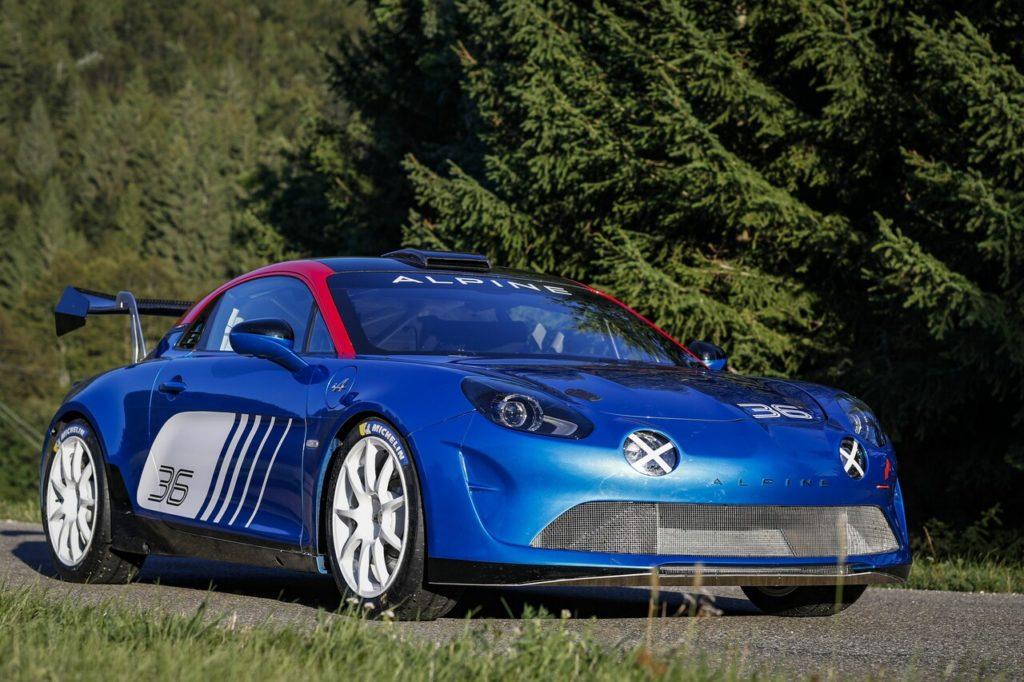 Arriva l'omologazione per l'Alpine A110 Rally, pronta per le competizioni [VIDEO]