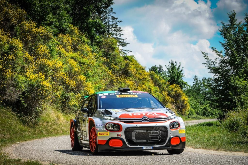 Crugnola, Ometto e la prima gara con la Citroen C3 R5: teorema vincente al Rally del Casentino