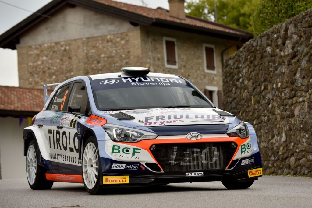 CIWRC | Luca Rossetti torna nel campionato con la Hyundai i20 R5 di Friulmotor