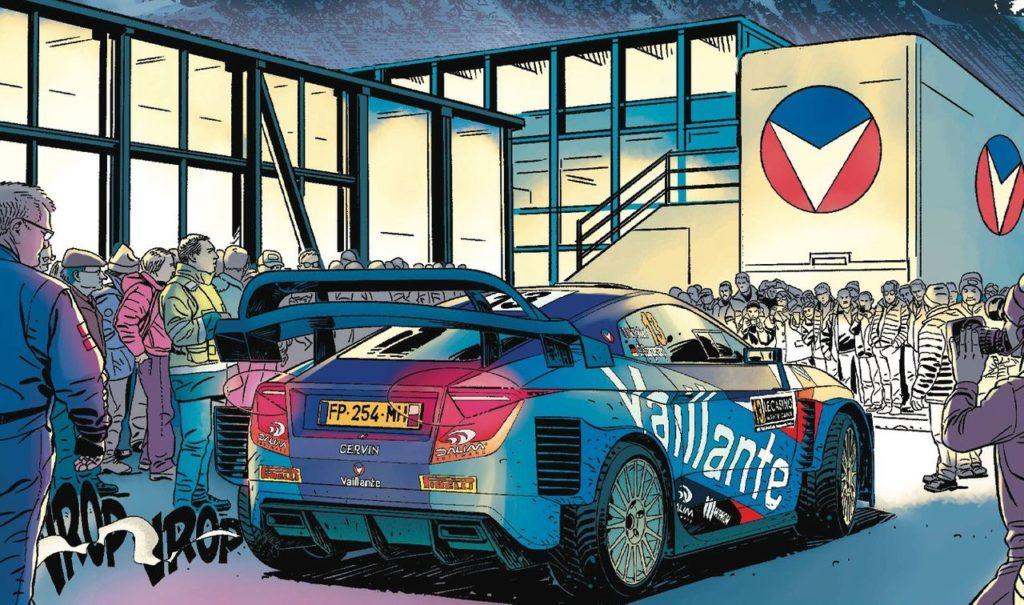 L'icona delle graphic novel sportive Michel Vaillant affronta il WRC nella nuova uscita