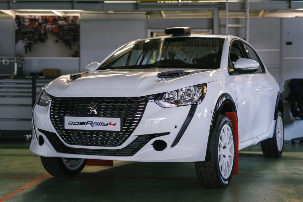 La Peugeot 208 Rally4 debutta col botto: vittoria di categoria in Portogallo