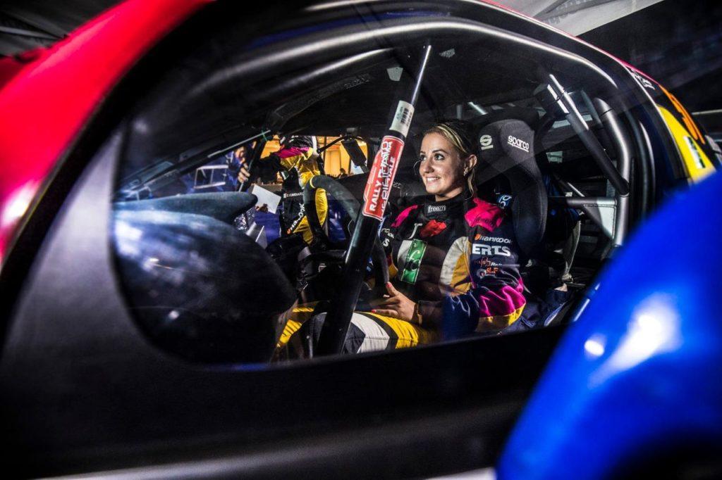 ERC | Finalmente il debutto europeo di Rachele Somaschini, in gara con la nuova Peugeot 208 Rally4