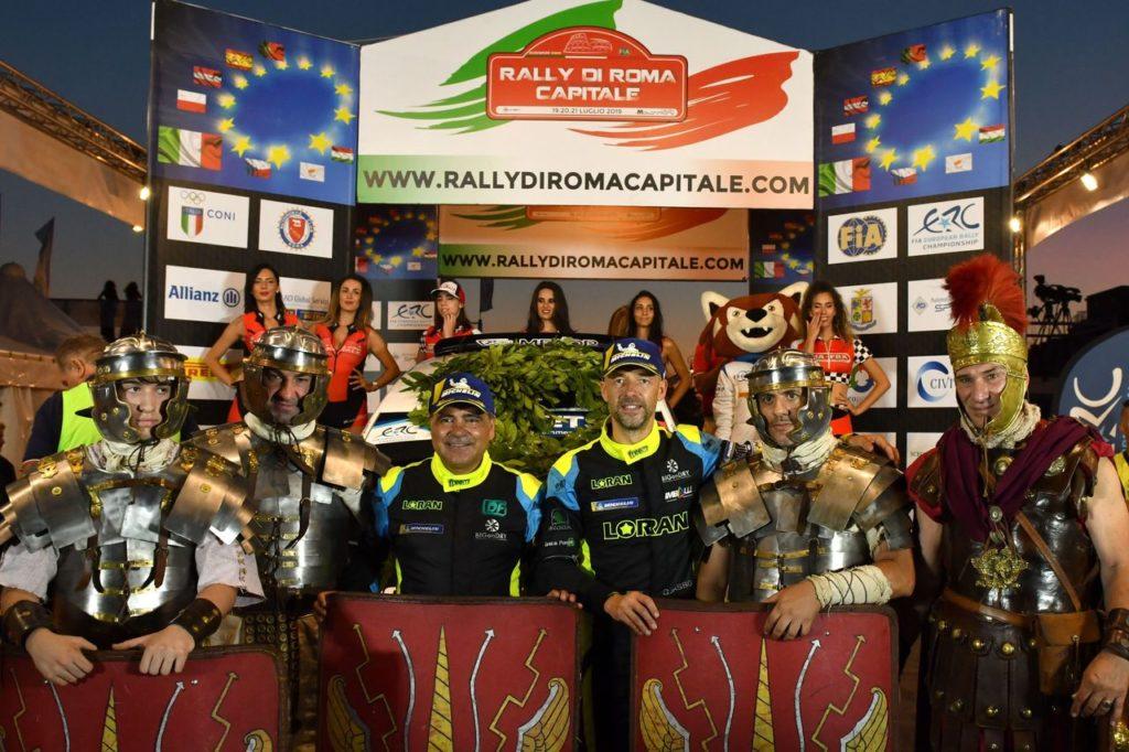 ERC – CIR | Rally Roma Capitale: parte il duello tra Basso e Crugnola, ma attenzione a Lukyanuk e Breen