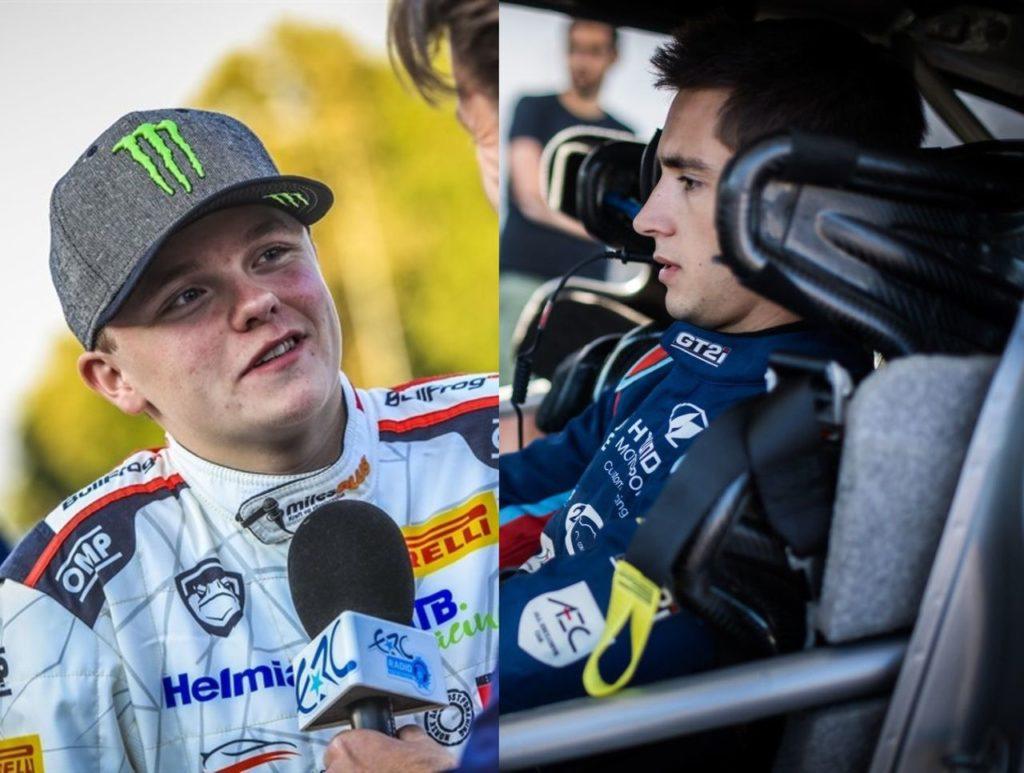 ERC | Rally Roma Capitale, al via anche Oliver Solberg. Pierre Louis Loubet intanto si prepara con la Hyundai i20 WRC