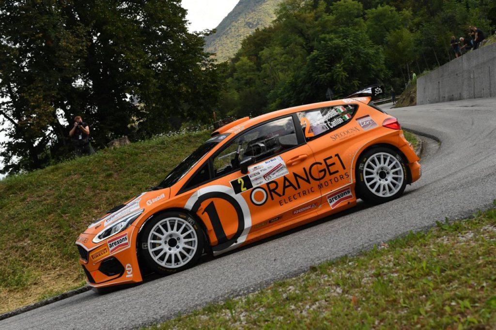 Campedelli rinnova con Orange1 Racing sino al 2024 e si prepara per il Campionato Italiano Rally Terra