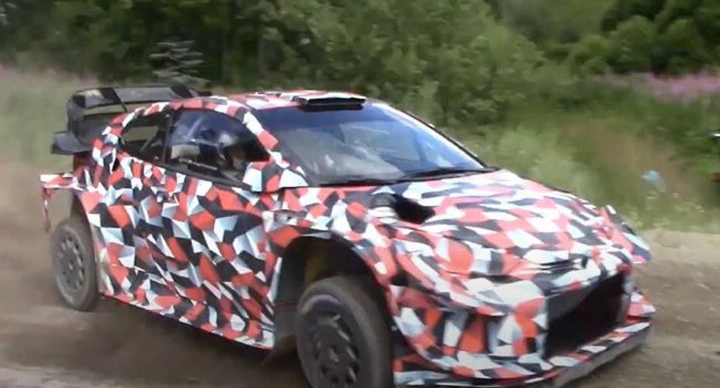 WRC   Toyota chiarisce il ritorno a sorpresa nei test della GR Yaris WRC 2021