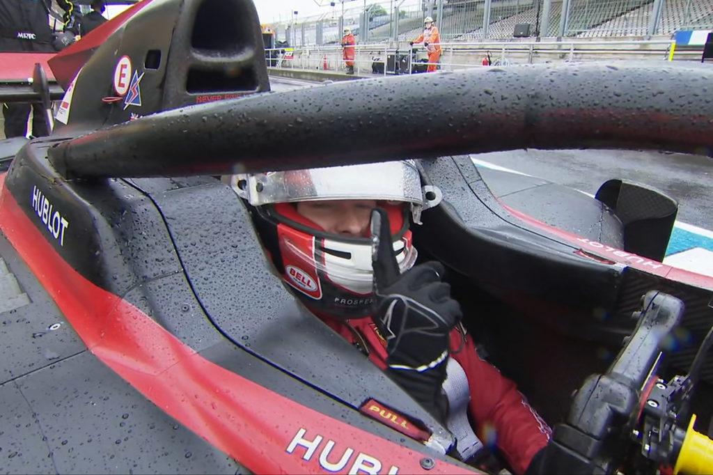 FIA F2 | Budapest, Qualifiche: Ilott vola sul bagnato, 2° Ghiotto