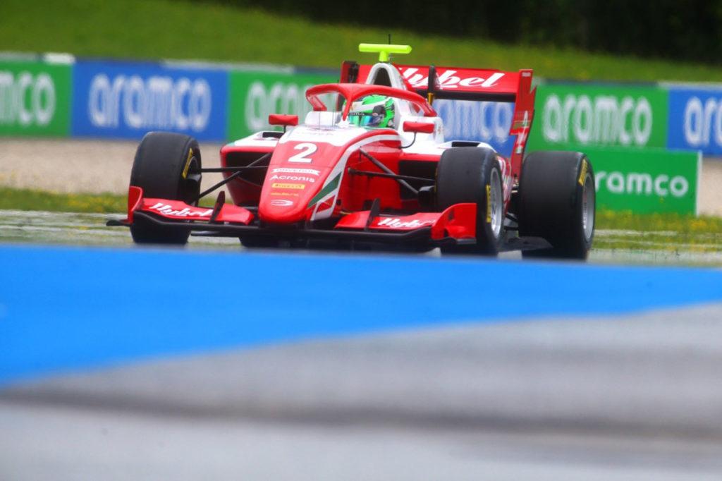 FIA F3 | Spielberg (2), Qualifiche 1: Vesti in pole, Beckmann insegue