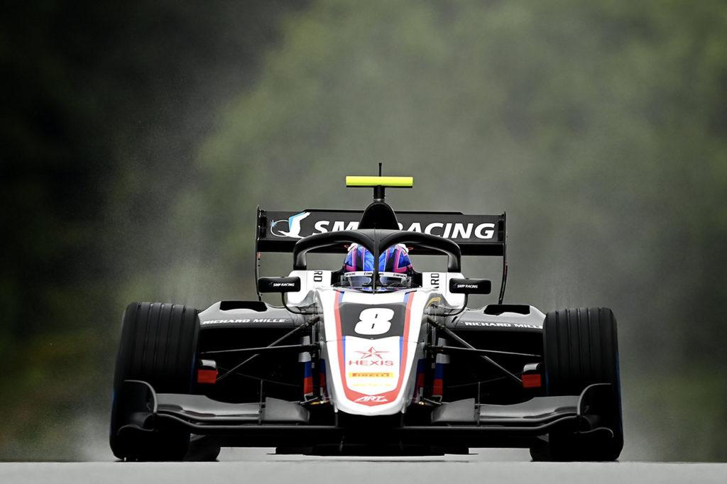 FIA F3 | Budapest, Qualifiche: Smolyar emerge sul bagnato davanti a Sargeant