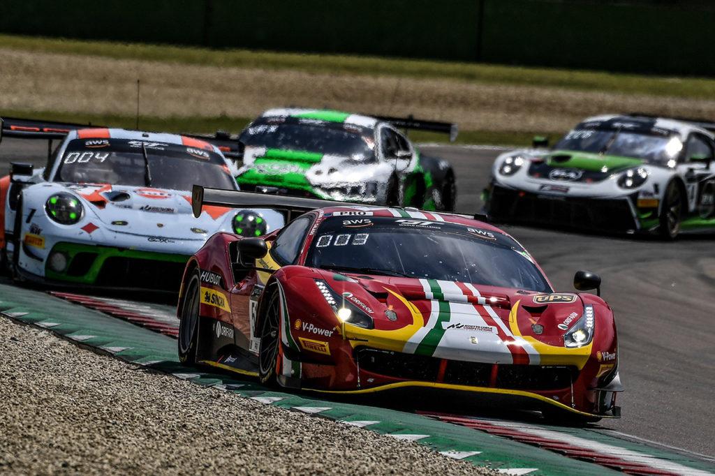 GTWC Europe | Podio sfumato per la Ferrari a Imola, 2° posto tra i Pro-Am