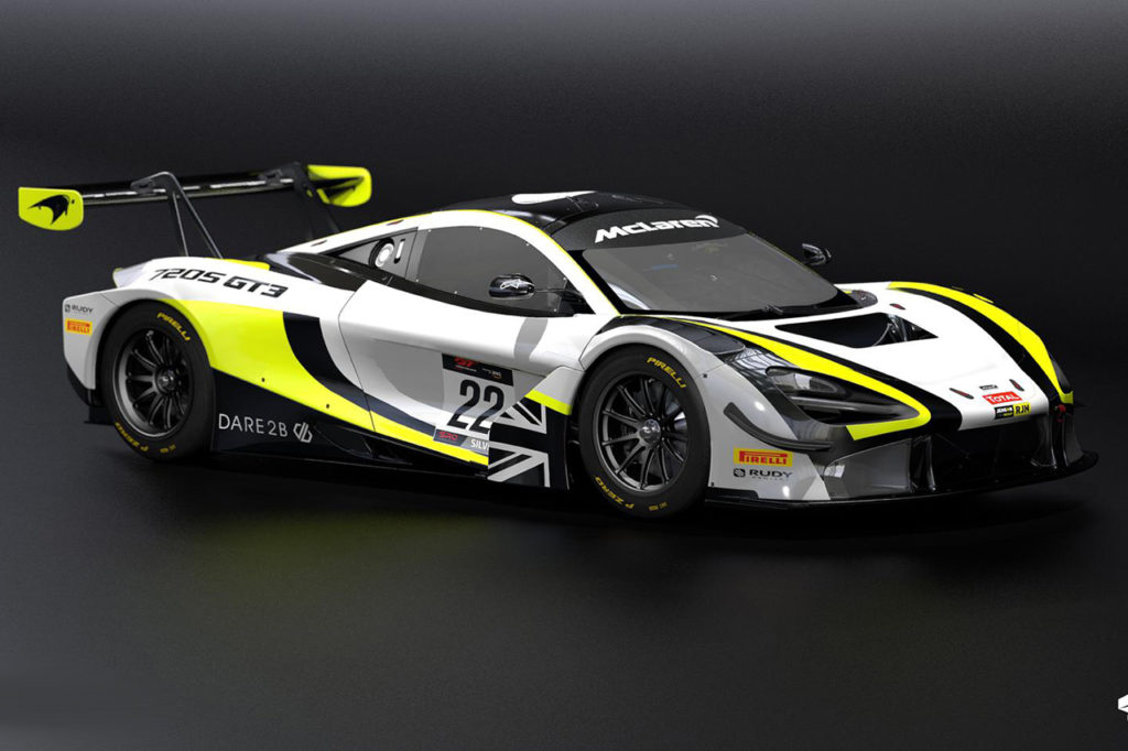 GTWC Europe | Passo indietro per la McLaren del Jenson Team Rocket RJN