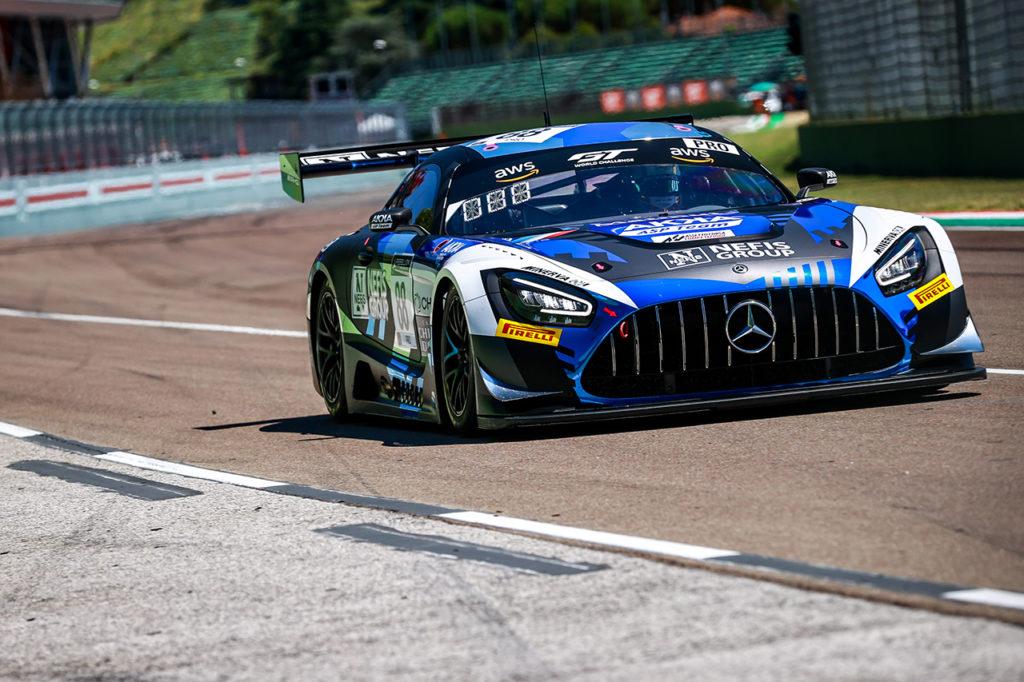 GTWC Europe | Mercedes-AMG a podio nel primo round di Imola con Marciello-Fraga-Boguslavskiy