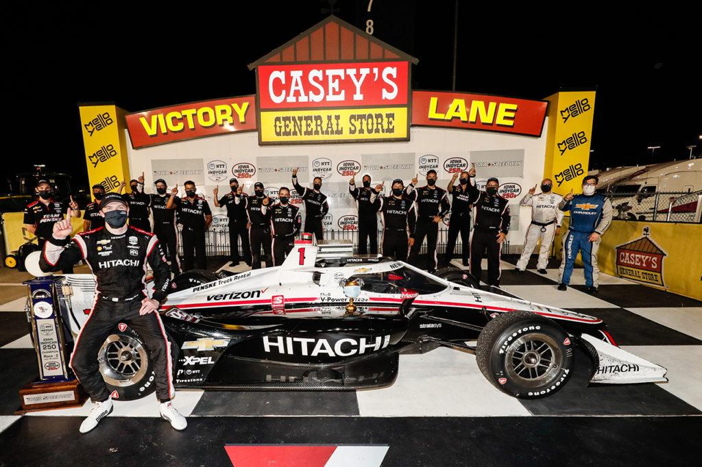 IndyCar | Iowa, Gara 2: centro perfetto per Newgarden e il Team Penske