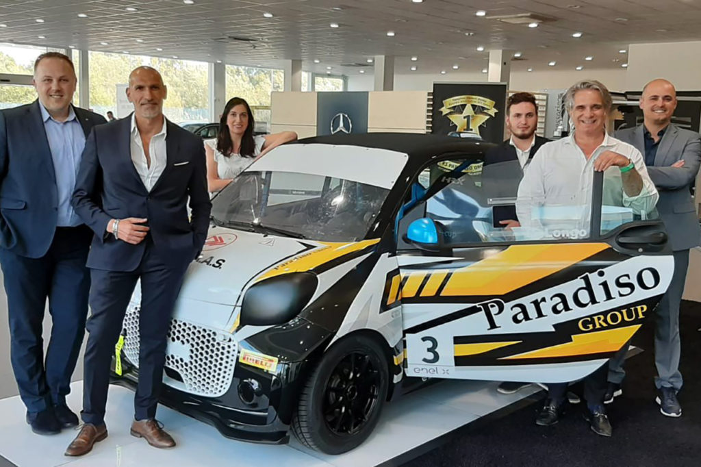 smart EQ fortwo e-cup | Il campione junior Longo di nuovo al via con Paradiso Group
