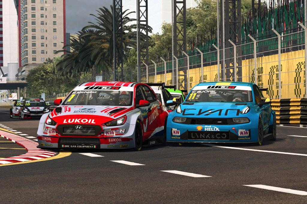 WTCR | Pre-Season Esports: Azcona e Michelisz vincono le due gare di Macao