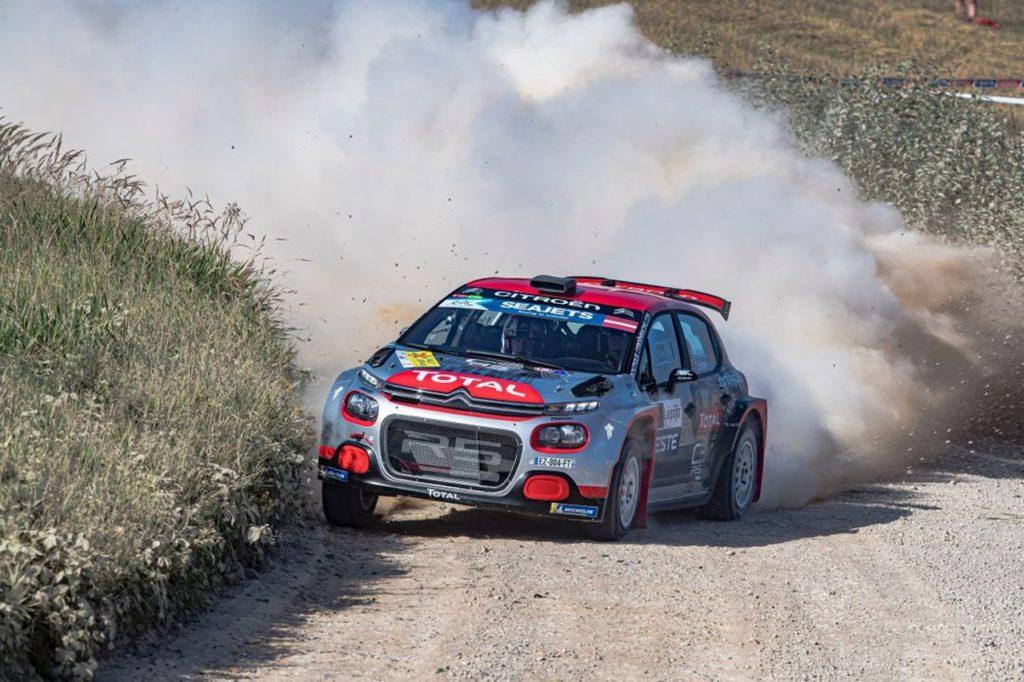 WRC | La spedizione delle Citroen C3 R5 al Rally Estonia