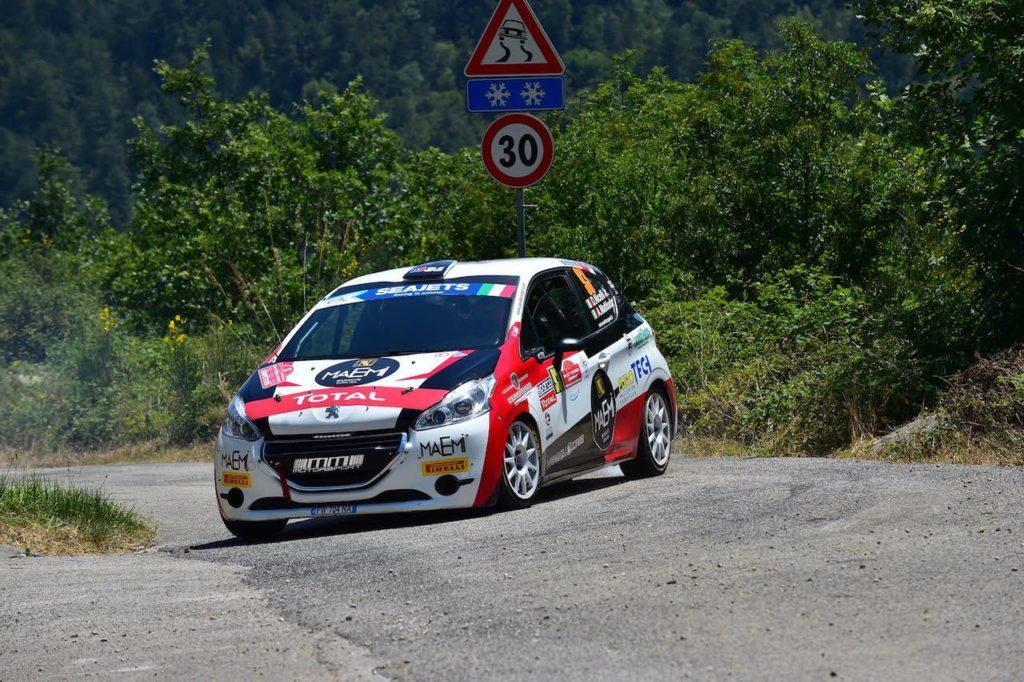 Parte dal Ciocco il Peugeot Competition 208 Rally Cup Top 2020. Andreucci sulla 208 Rally4 nello shakedown [VIDEO]