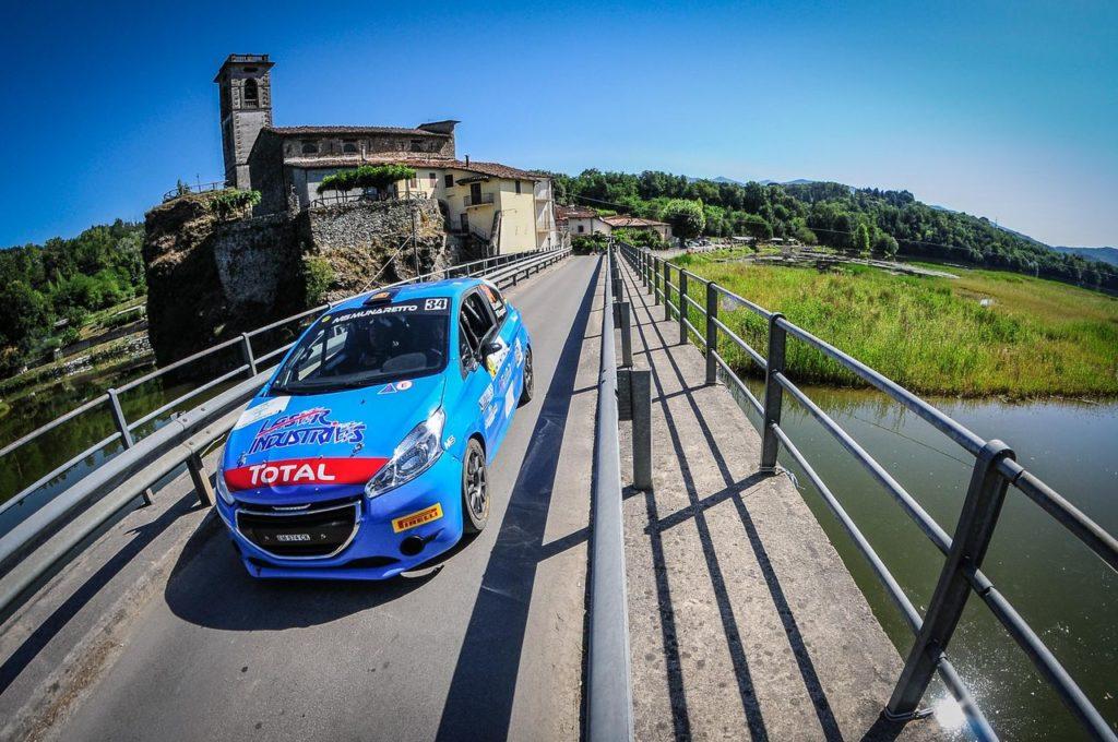 Peugeot Competition 208 Rally Cup Top 2020, il primo round de Il Ciocco va ad Alessandro Casella